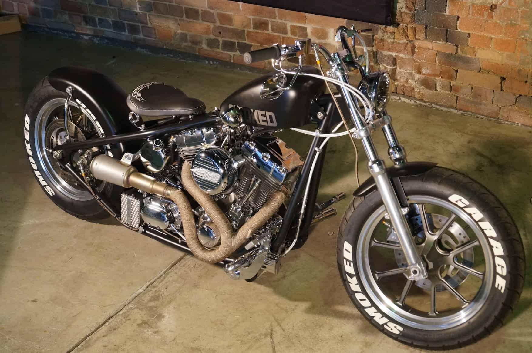 Black & Chrome {Custom Chopper}